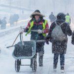 〈圖輯〉莫斯科遭遇連日暴雪 造成傷亡
