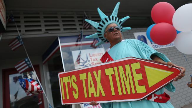 早報稅可早退稅。(Getty Images)