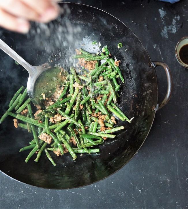 乾煸四季豆。(Clare Barboza提供)