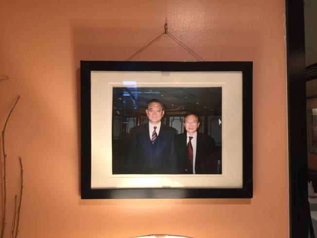 連戰副總統也是山王常客。(熊傳慧/攝影)