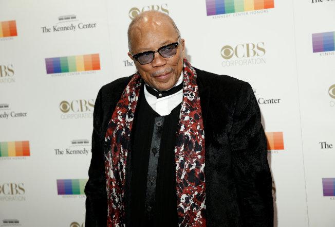年逾80的美國非裔音樂家昆西·瓊斯(圖)說,12年前他曾與第一千金伊凡卡約會。(路透)