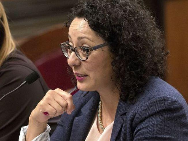 「#MeToo運動」的發起人之一、加州眾議會女眾議員克莉絲提娜·加西亞也面臨不當性觸摸的指控。(美聯社)