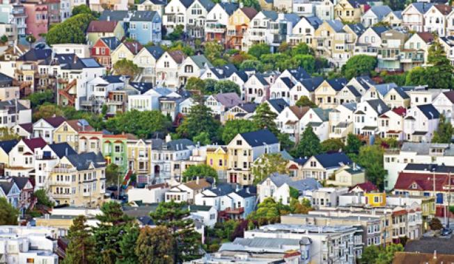 舊金山租房者比買房者多,占了全城的56%。(Getty Images)