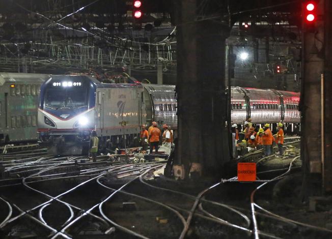 東北交通大樞紐的紐約賓州車站,亟需整修。(美聯社)