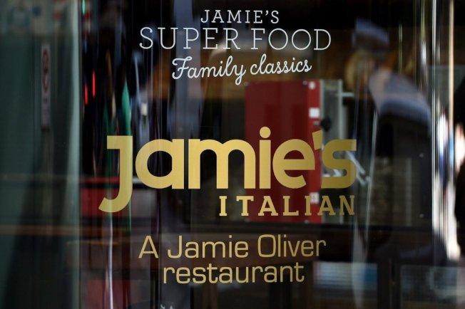 奧利佛在澳洲開的義大利餐廳。歐新社