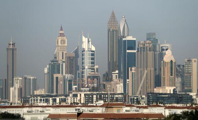 圖中最世界最高的飯店-Gevora飯店。Getty Images