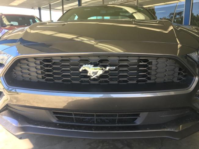 福特Mustang在租車人群中頗受歡迎。(記者王若然 / 攝影)