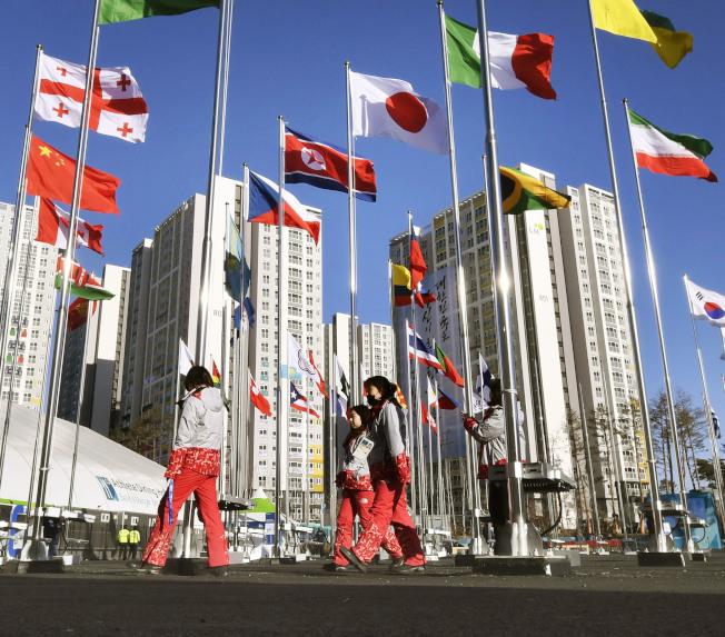 北韓金正日藉冬奧與韓國打開僵局,展開來往。(美聯社)