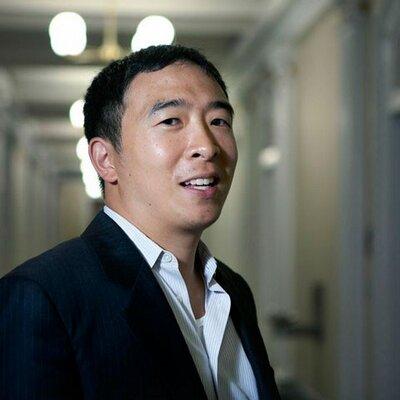 紐約企業家楊安澤。(取自推特)
