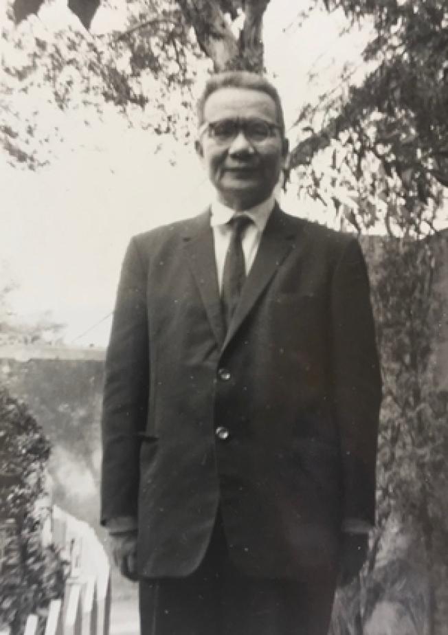 攝於1950年的陶希聖相片。(胡佛檔案館提供)