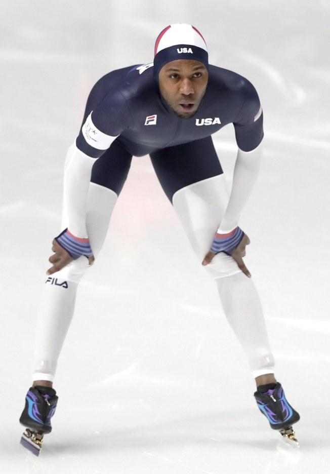 戴維斯是美國速滑傳奇。(歐新社)