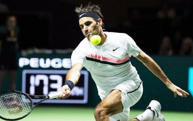 瑞士網球名將費德勒。 圖/歐新社
