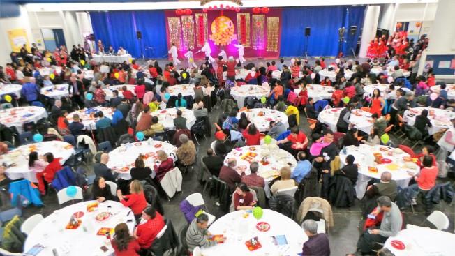CAAL兩年一度的中國新年慶祝會成為Lexington鎮大受歡迎的春節活動,華洋民眾參與者踴躍。(記者唐嘉麗/攝影)