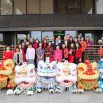 華資銀行 舞龍舞獅慶新春