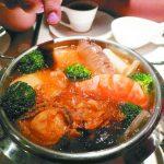 火鍋煮蝦飄橘紅物…安心吃