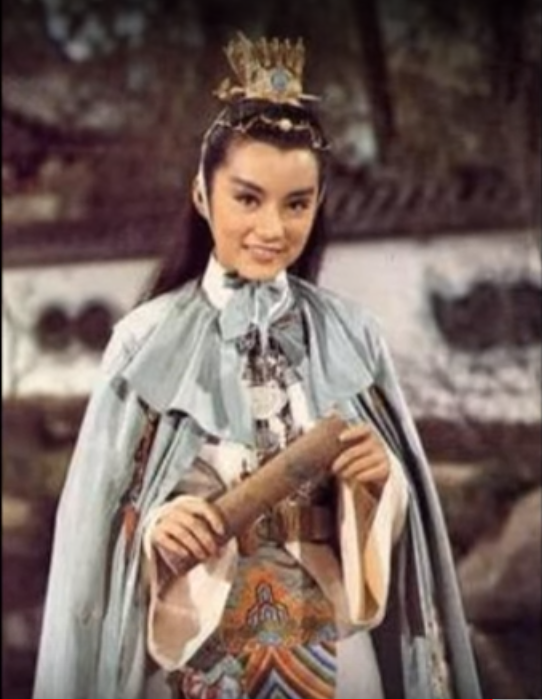 林青霞在「金玉良緣紅樓夢」 首度反串,扮演賈寶玉。(取材自YouTube)
