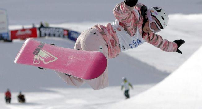 日本AV女優今井夢露(今井メロ)過去曾被稱為天才滑雪板少女。圖/翻攝自sputniknews