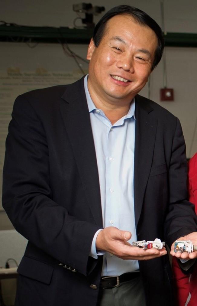 前密州大教授席寧,在機器人研究領域上具有相當知名度。(密州大官網截圖)
