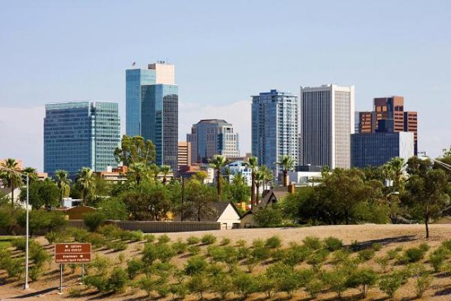 亞利桑納州鳳凰城市。(Getty Images)