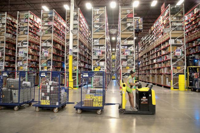 亞馬遜效應帶動倉儲、物流興起 改變就業市場 世界新聞網
