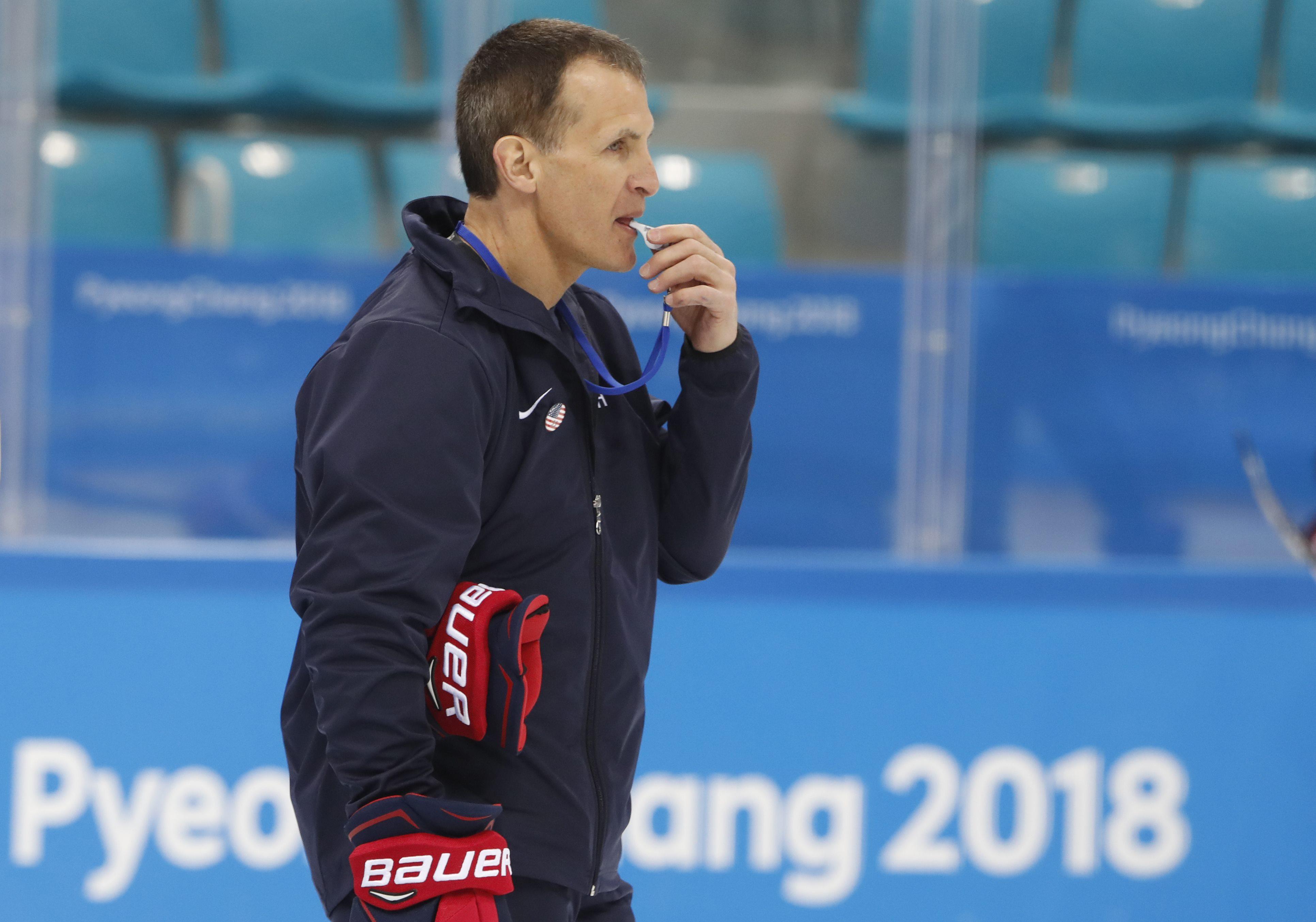 男子冰球總教練格拉納多。路透