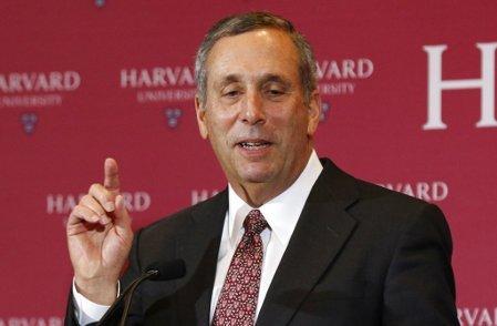 哈佛大學第29任校長貝考。 美聯社