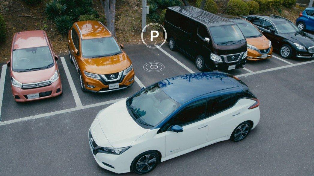 第二代Nissan Leaf搭載半自動駕駛技術。 摘自Nissan