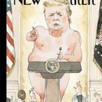 川普「裸體」插畫 登新一期紐約客雜誌封面