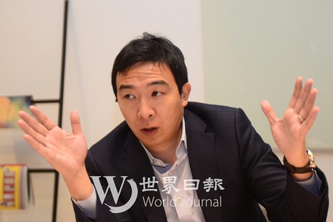 楊安澤談到「自由紅利」,意味著國家的每一分錢都實實在在的交給人民。(許振輝/攝影)