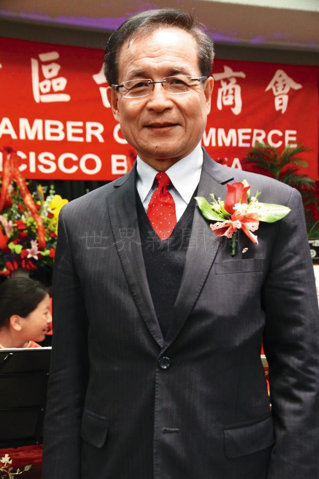 台灣商業發展研究院董事長許添財。(記者李榮/攝影)