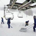 太浩湖山區7天降雪逾8呎