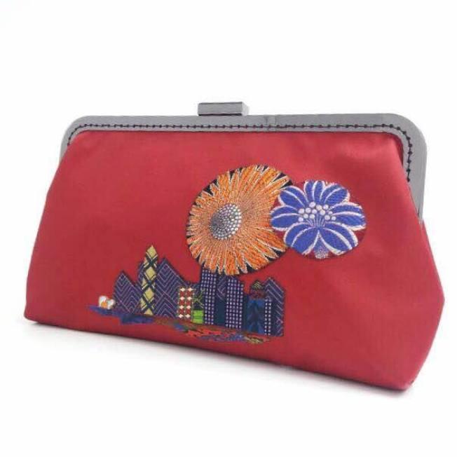 「愛連心」縫紉媽媽縫製的皮包。(取材自臉書)