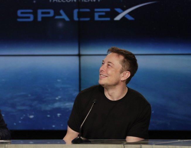 矽谷太空科技大亨馬斯克。美聯社