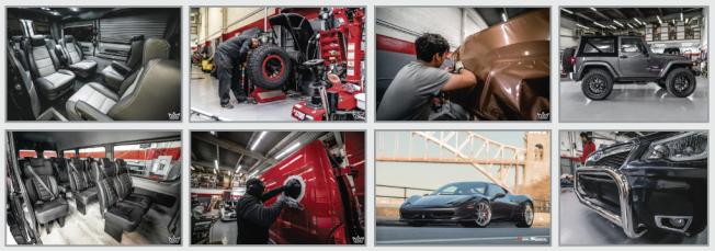 皇冠汽車(改裝廠)有數位專業員工,為您提供每一種汽車改裝需求諮詢。