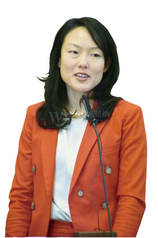 市長候選人金貞妍提出改善交通擁擠方案。(本報檔案照片,記者李秀蘭攝影)