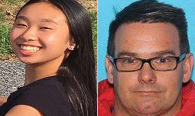 賓州警方追緝涉嫌誘拐余艾美(左)的艾斯特里(右)。(警方提供)