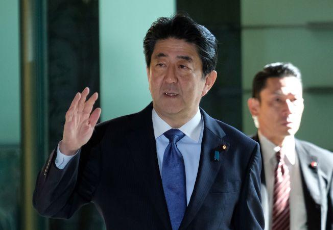 日本首相安倍晉三。Getty Images
