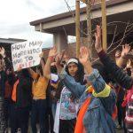 校園反槍抗議 庫市高中生「走出教室」