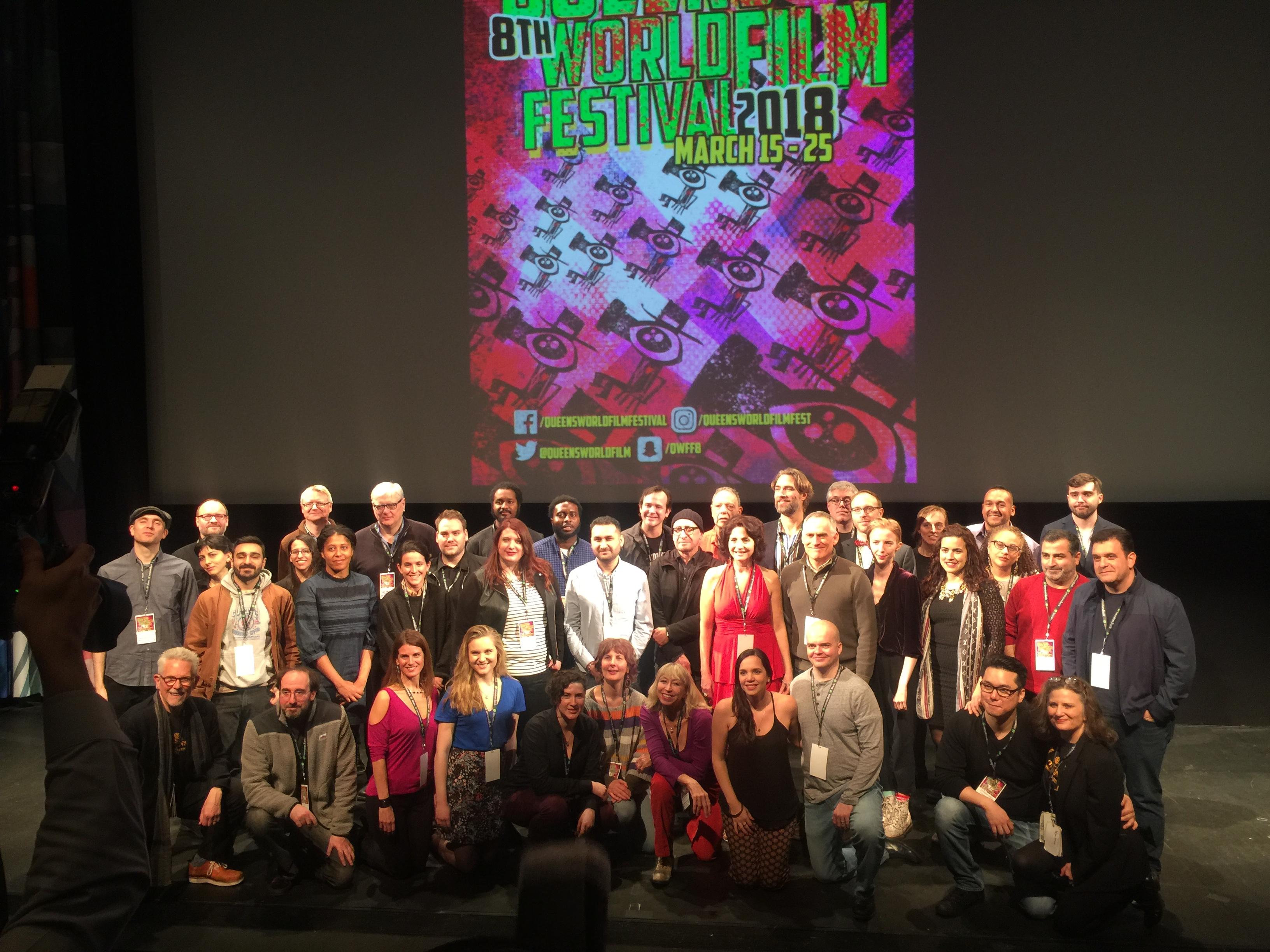 第八屆紐約皇后電影節開幕,189部電影參展,有許多亞裔導演作品。(記者林群/攝影)