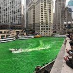 全美最狂!芝加哥染綠河水慶聖派翠克節
