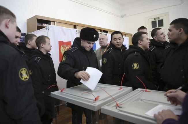 目前俄國部分偏遠地區已開始投票。(美聯社)