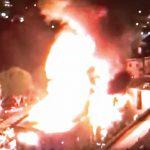 華埠附近四級大火 無傷亡