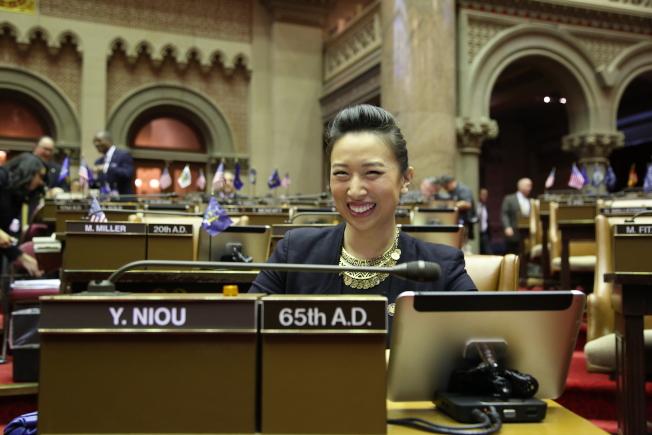 牛毓琳是紐約州議會唯一亞裔女性眾議員。(洪群超/攝影)