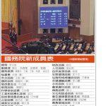 1張圖 看中國國務院新成員