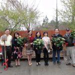 華僑文教中心 植樹美化環境