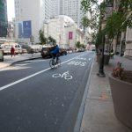 費城市場街 增設單車道