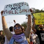 印度一大學教授涉性騷擾 上千學生大遊行