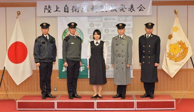 日陸上自衛隊換新衣 孕婦裝也改版