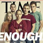 領軍反槍運動  佛州高中「倖存5人組」登時代雜誌封面