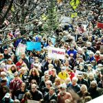 【為活命而走】新州20多城鎮反槍集會 要用選票反制